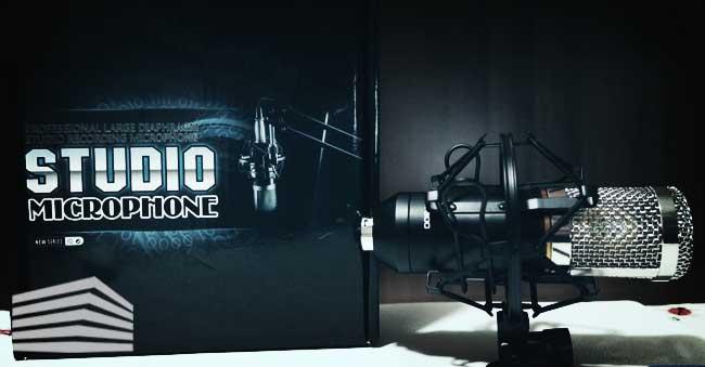 top microfono a condensatore