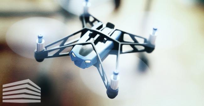 parrot mini drone hydrofoil