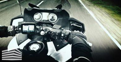 supporto navigatore moto