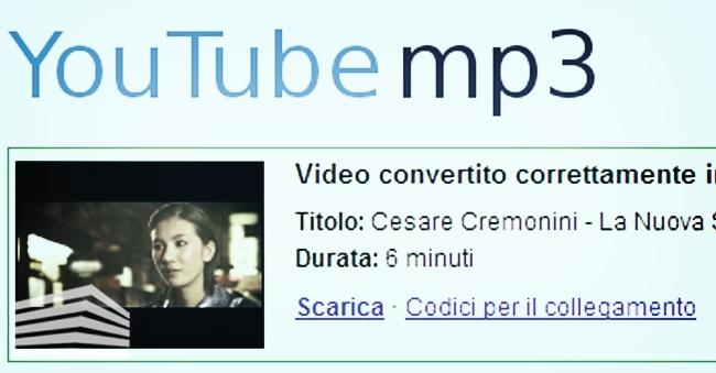 converter da youtube a mp3