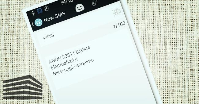 scoprire messaggi anonimi
