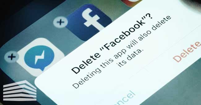 chiudere account Facebook
