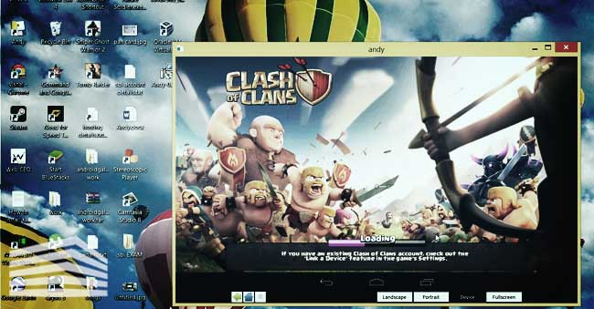 scaricare clash of clans pc