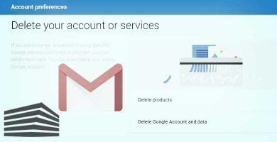 gmail eliminare account