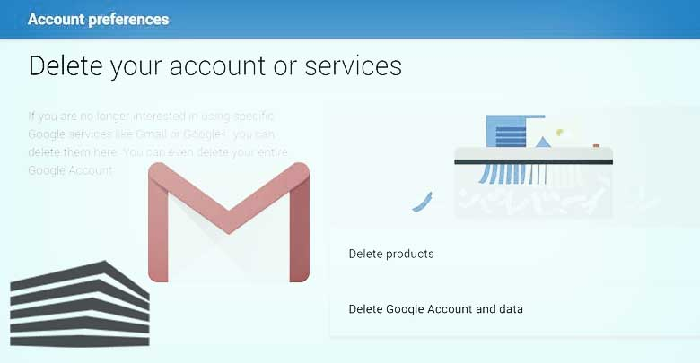 gmail eliminare account