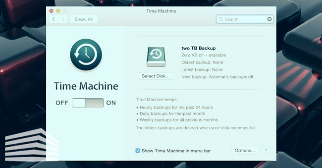come fare il backup su Mac