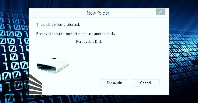 sbloccare una scheda microSD o USB protette da scrittura