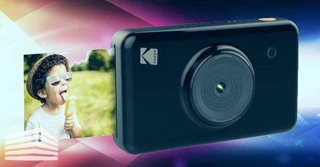 macchina fotografica che stampa le foto