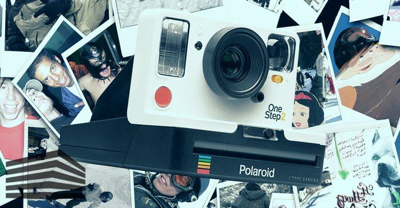 macchina fotografica tipo polaroid