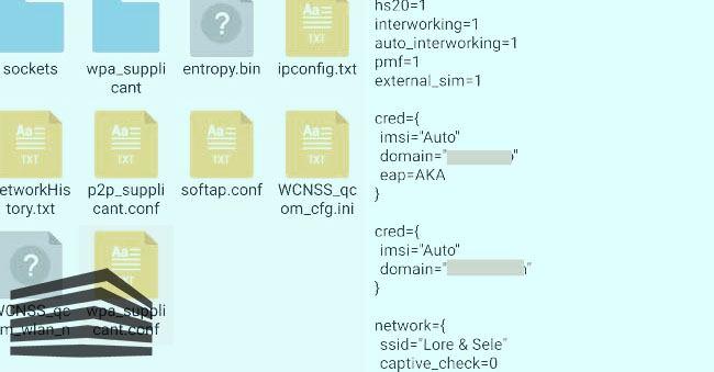 password di reti