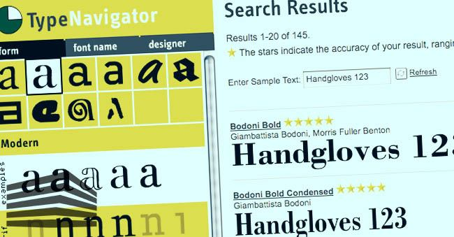 riconoscimento font