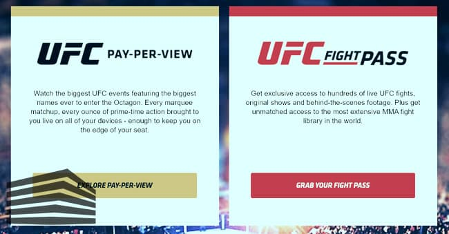 ufc on demand