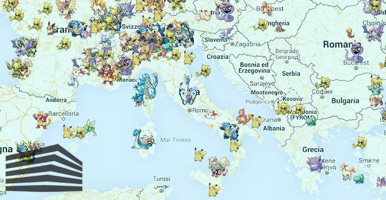best pokemon go map