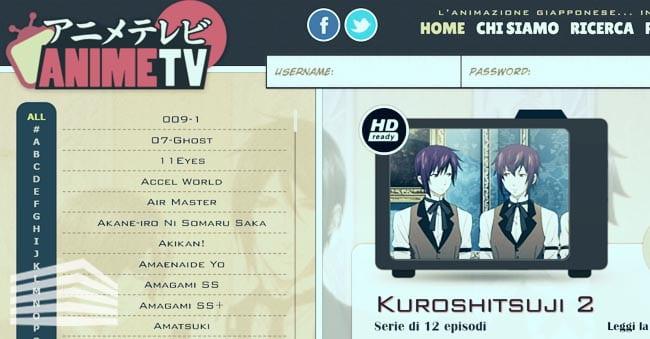 I migliori siti di anime