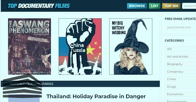 documentari streaming