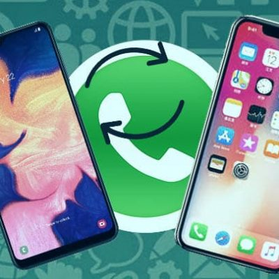 whatsapp da iphone ad android