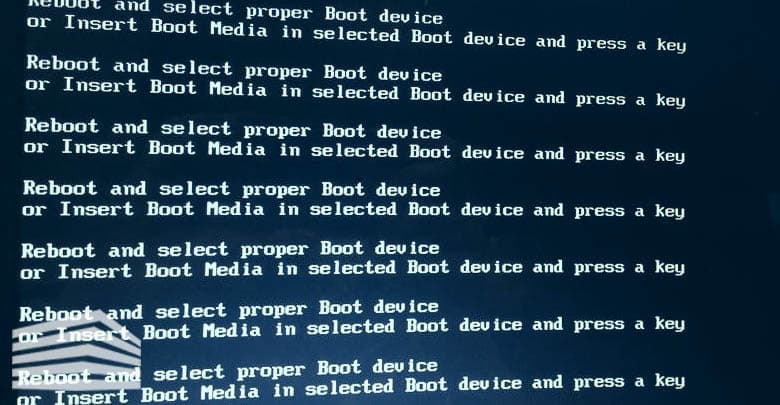 insert boot media in selected boot device and press a key