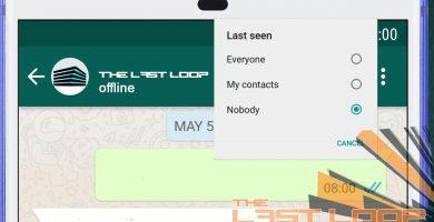 come nascondere online su whatsapp