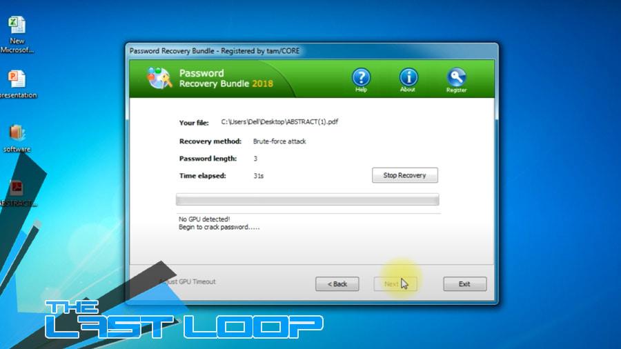 aprire file zip con password